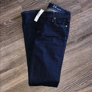 NWT j crew match stick jeans. Size 24